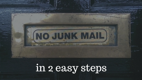 Get rid of junk mail