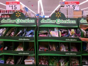 walmart dollar station