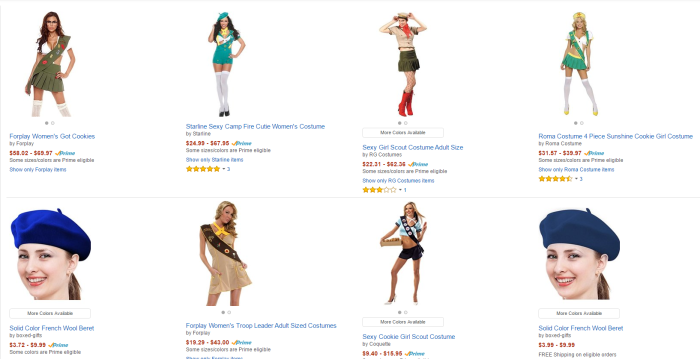 girl scout halloween costume