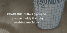 moldy washing machine settlement